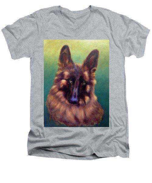 Tayto Men's V-Neck T-Shirt by Sarah Farren