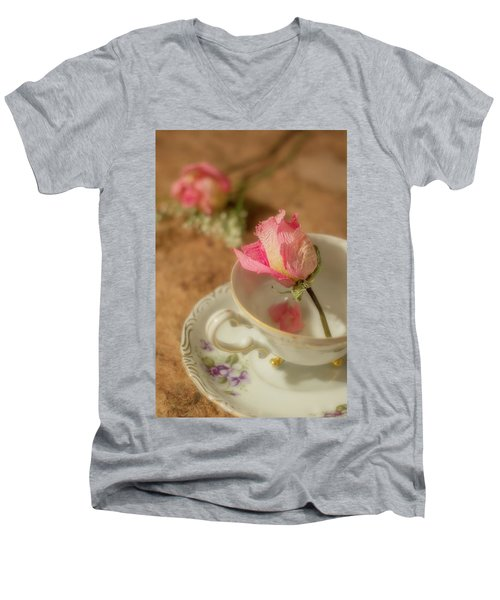 Tea And Roses Men's V-Neck T-Shirt