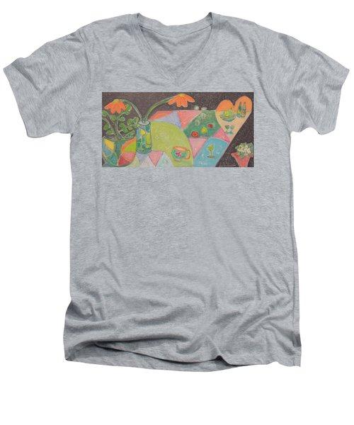 Tea For Two Men's V-Neck T-Shirt