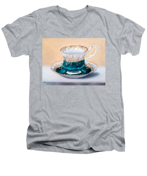 Teacup Men's V-Neck T-Shirt
