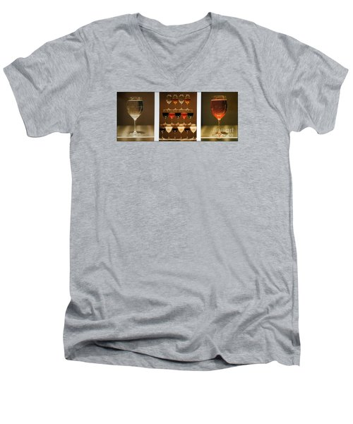 Tears And Wine Men's V-Neck T-Shirt by James Lanigan Thompson MFA