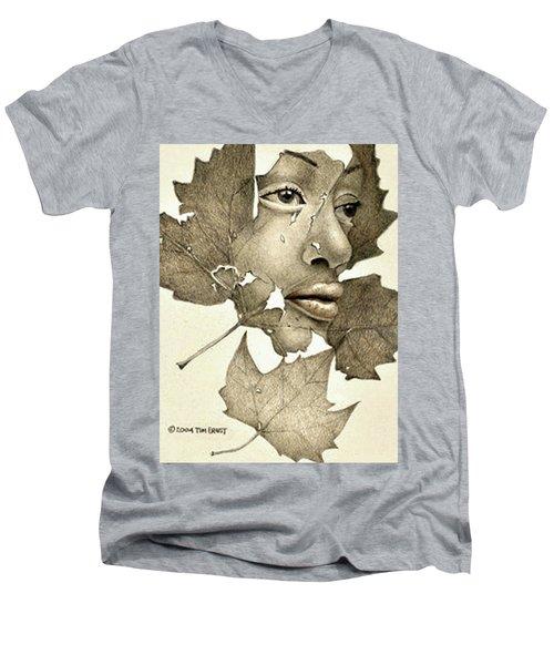 Tears Men's V-Neck T-Shirt
