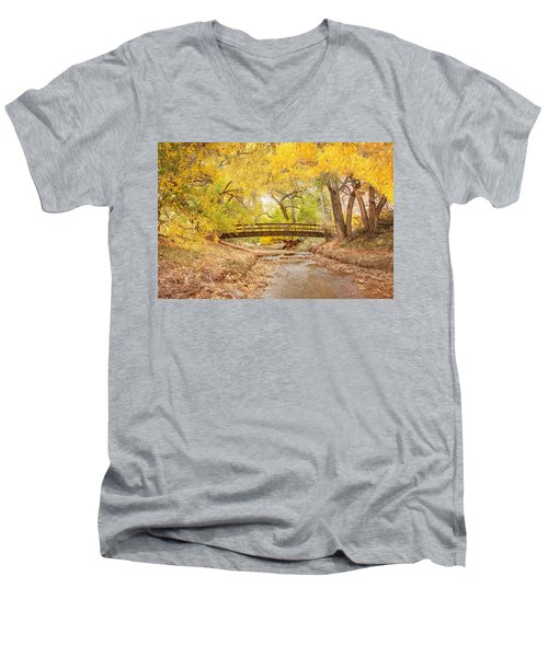 Teasdale Bridge Men's V-Neck T-Shirt