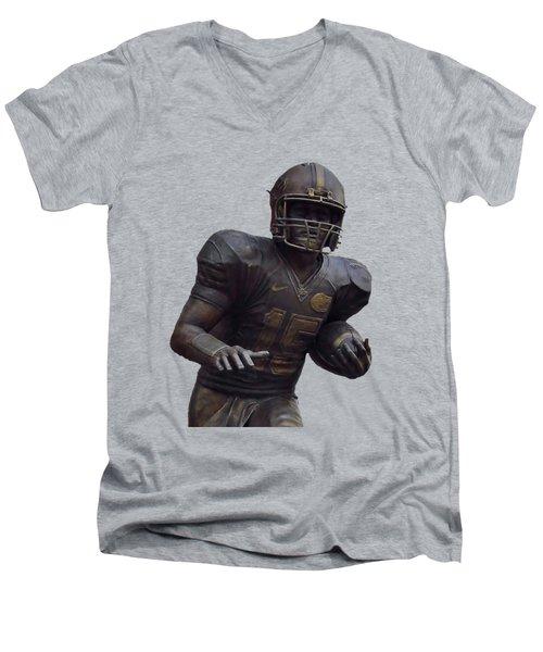 Tebow Transparent For Customization Men's V-Neck T-Shirt