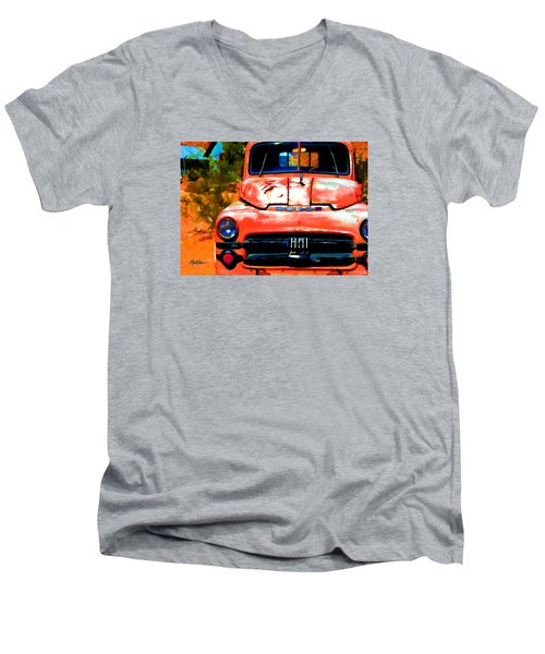 Techatticup Mine Ghost Town Nv Men's V-Neck T-Shirt