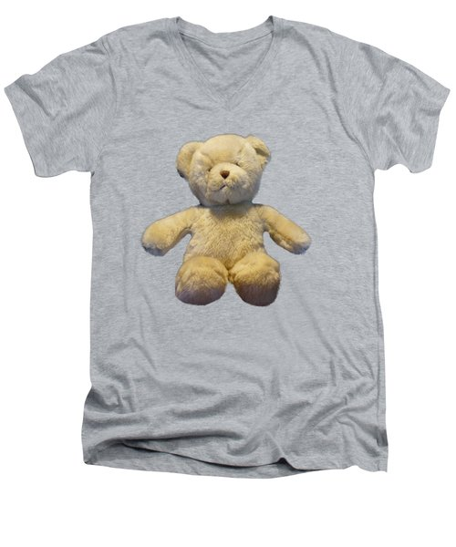 Teddy Bear Men's V-Neck T-Shirt