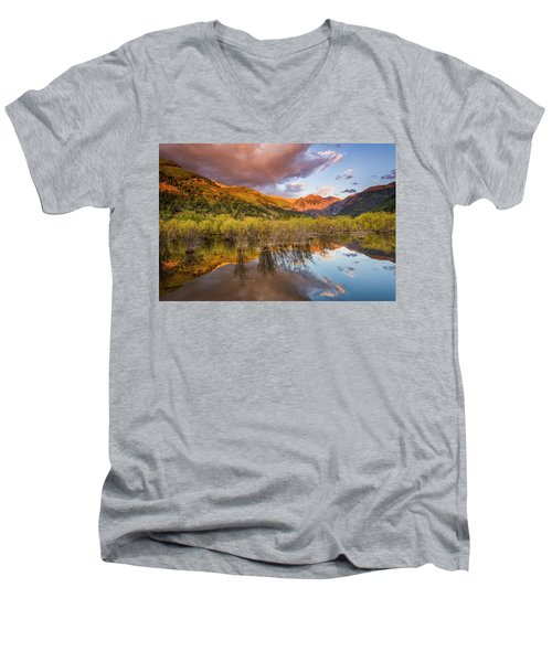 Telluride Valley Floor 2 Men's V-Neck T-Shirt
