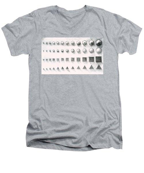 Template Men's V-Neck T-Shirt