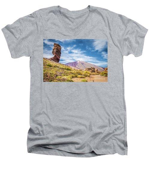Tenerife Men's V-Neck T-Shirt by JR Photography