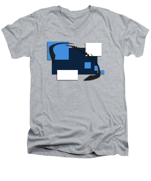 Tennessee Titans Abstract Shirt Men's V-Neck T-Shirt