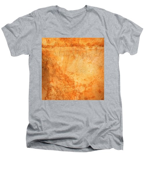 Terracotta Wall Men's V-Neck T-Shirt