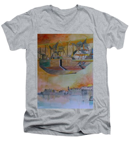 Test Flight Men's V-Neck T-Shirt