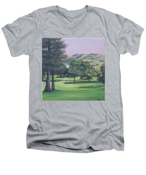 The Villages 1 Men's V-Neck T-Shirt
