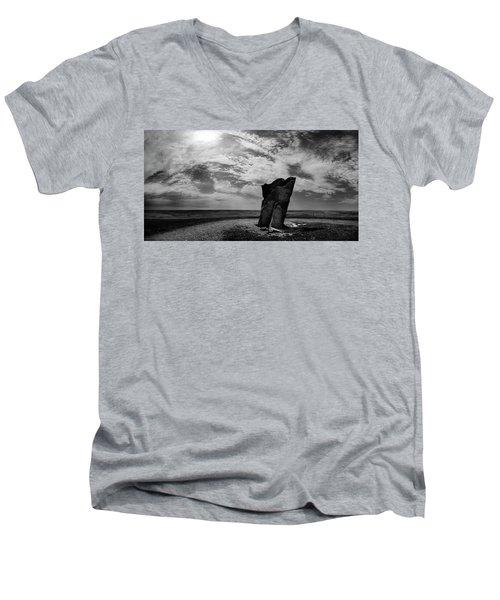 Teter Rock Hill Top View Men's V-Neck T-Shirt