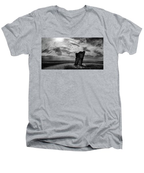 Teter Rock Hill Top View Men's V-Neck T-Shirt