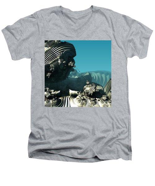 Tethered Men's V-Neck T-Shirt