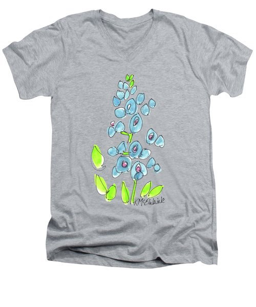 Texas Bluebonnet Men's V-Neck T-Shirt