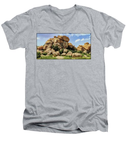 Texas Canyon Men's V-Neck T-Shirt