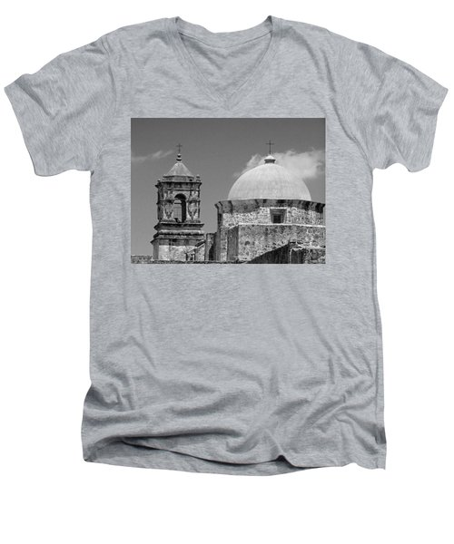 Texas Mission  Men's V-Neck T-Shirt