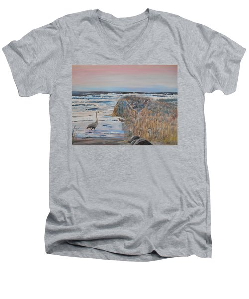 Texas - Padre Island Men's V-Neck T-Shirt