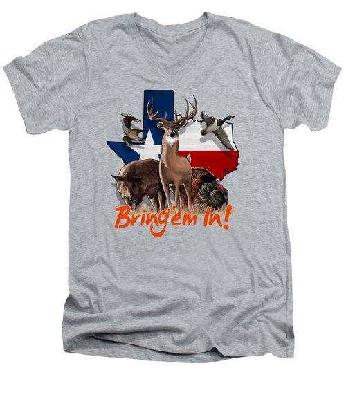 Texas Total Package Men's V-Neck T-Shirt