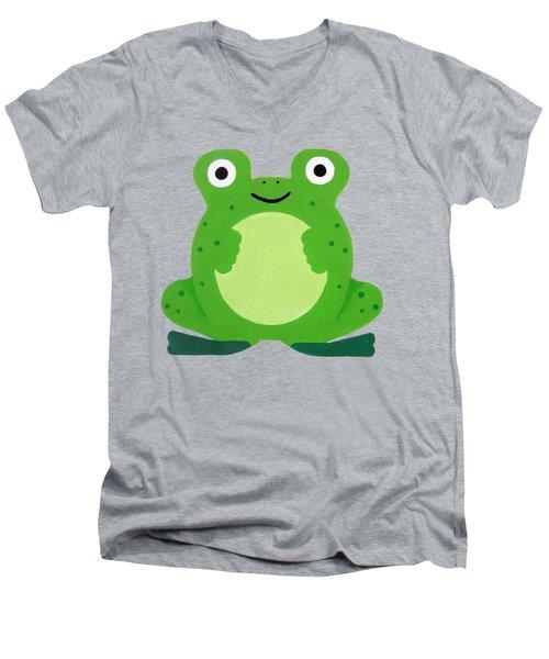 Tfrogle Men's V-Neck T-Shirt