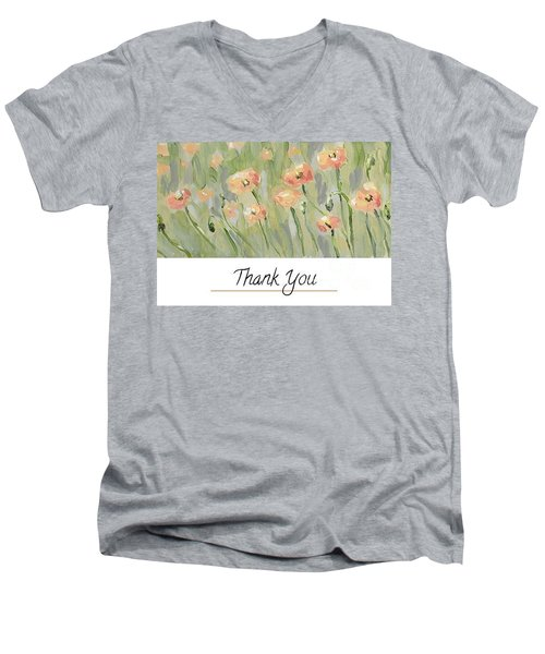 Thank You Men's V-Neck T-Shirt