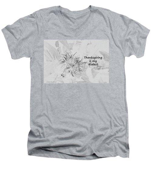 Thanks Giving Men's V-Neck T-Shirt