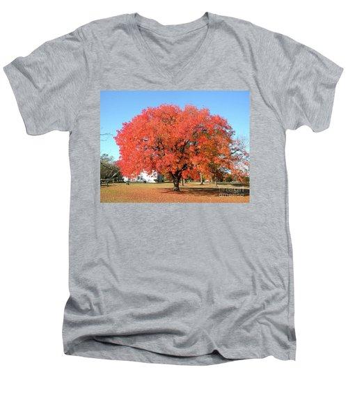 Thanksgiving Blessings Men's V-Neck T-Shirt