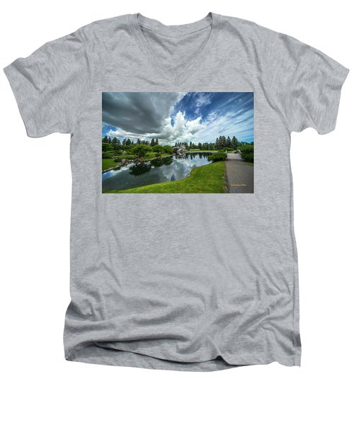 That Prairie Sky Men's V-Neck T-Shirt