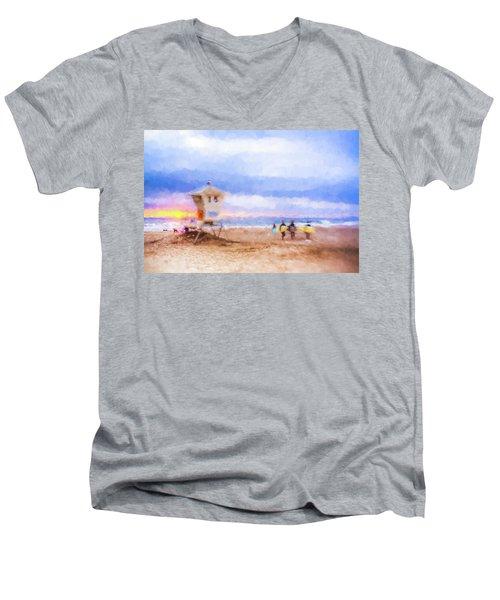That Was Amazing Watercolor Men's V-Neck T-Shirt