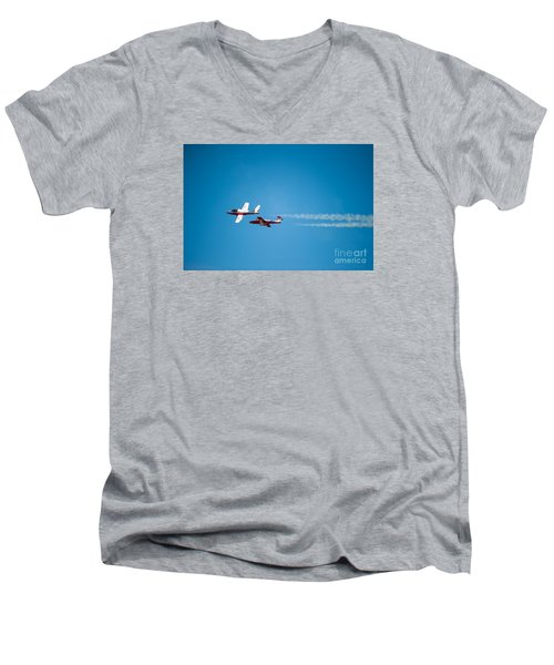 The 2 Snowbirds Men's V-Neck T-Shirt