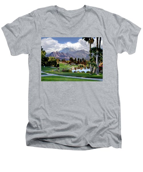 The 5th At Woodhaven Men's V-Neck T-Shirt