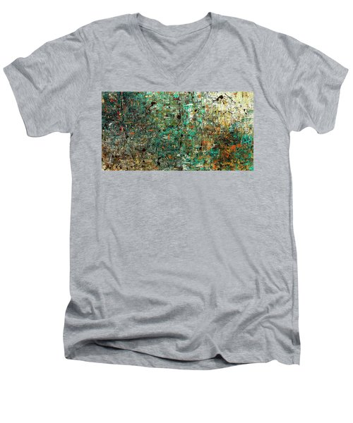 The Abstract Concept Men's V-Neck T-Shirt