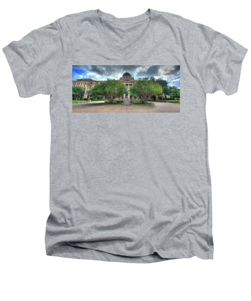 The Academic Building Men's V-Neck T-Shirt