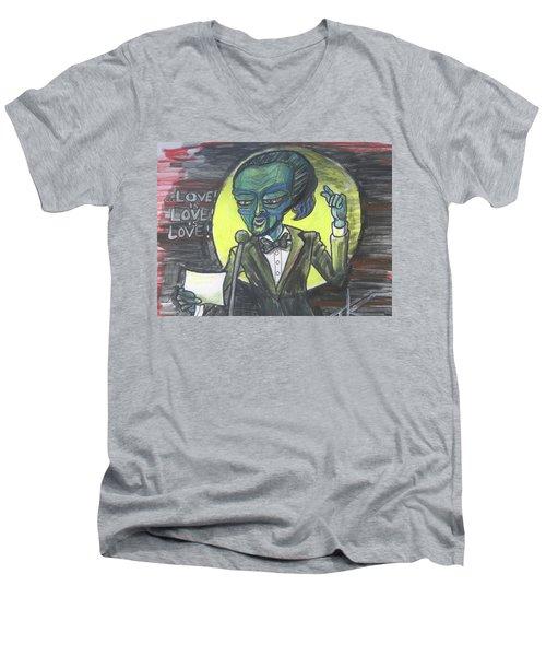 The Alien Lin-manuel Miranda Men's V-Neck T-Shirt