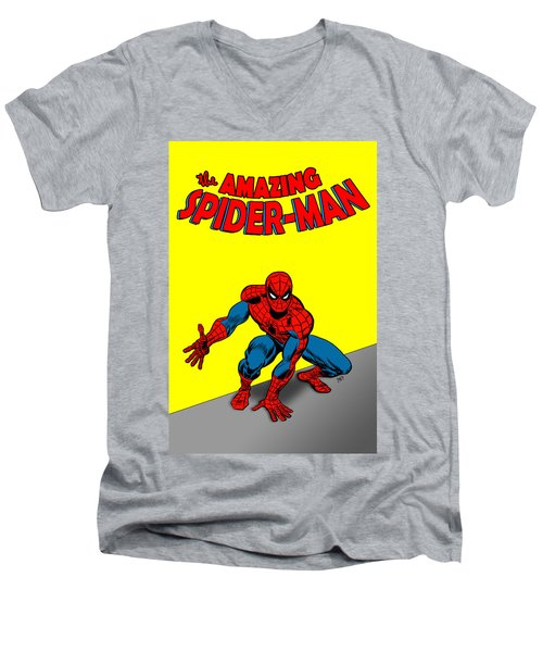 The Amazing Spider-man Men's V-Neck T-Shirt