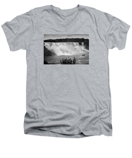 The American Falls Men's V-Neck T-Shirt