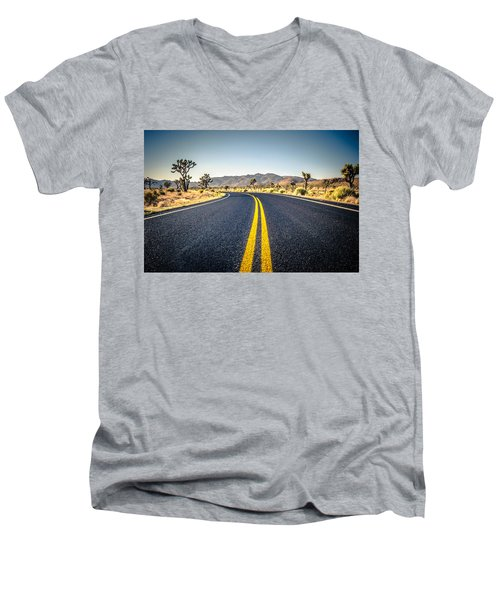 The American Wilderness Men's V-Neck T-Shirt