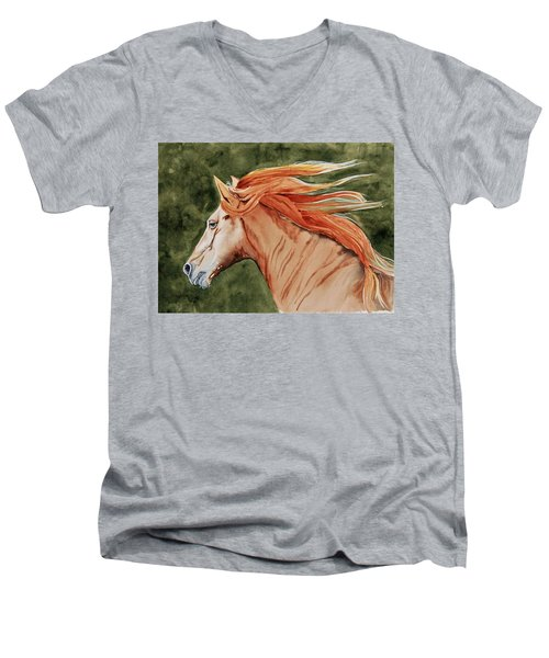 The Americano Men's V-Neck T-Shirt
