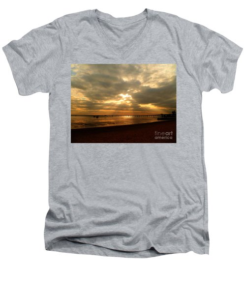 The Angels Are Calling Men's V-Neck T-Shirt