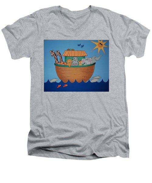The Ark Men's V-Neck T-Shirt