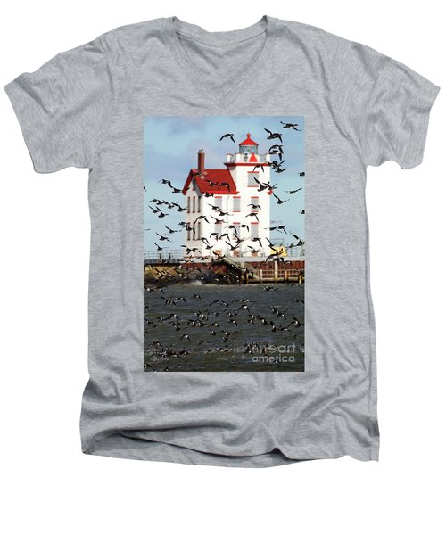 The Arrival Men's V-Neck T-Shirt