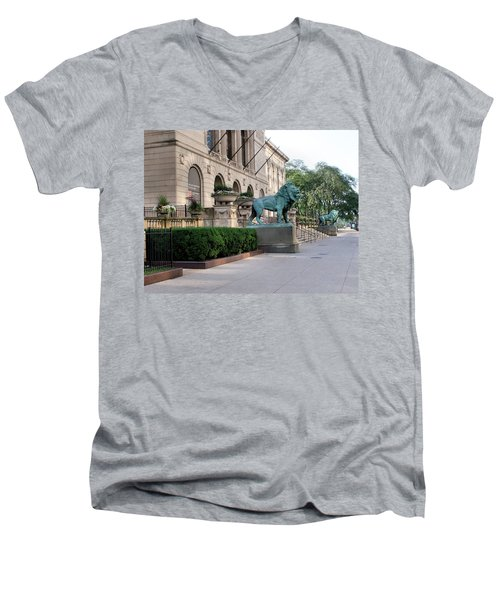 The Art Institute Of Chicago - 3 Men's V-Neck T-Shirt