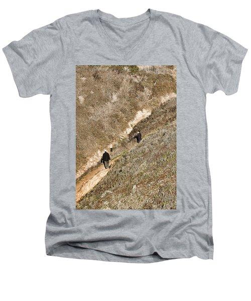 The Ascent Men's V-Neck T-Shirt