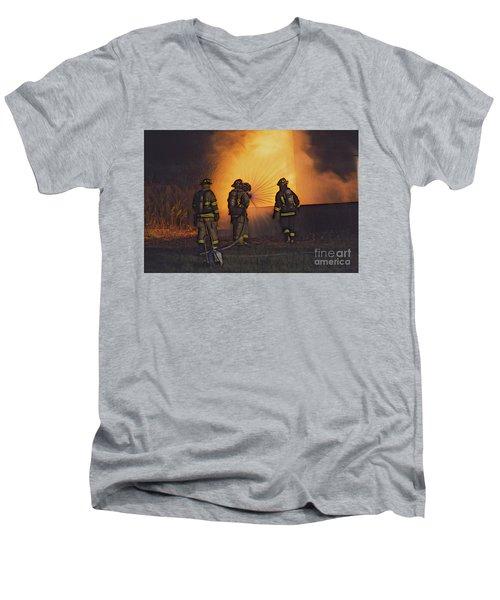 The Attack Men's V-Neck T-Shirt