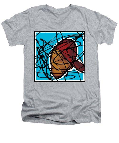 The B-boy As Icon Men's V-Neck T-Shirt
