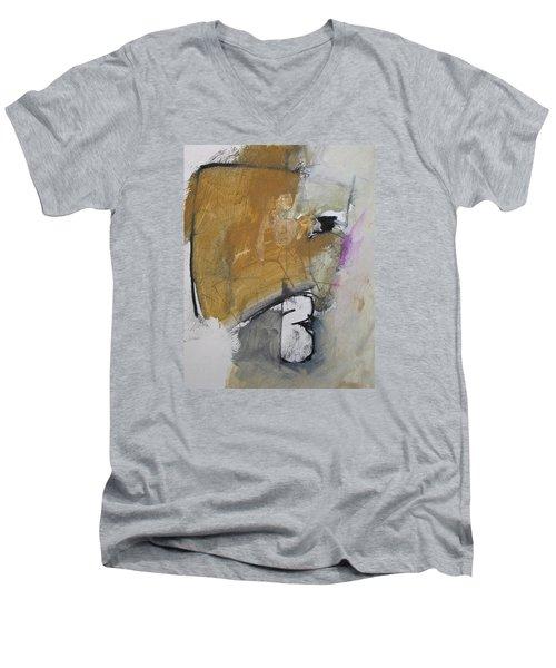 The B Story Men's V-Neck T-Shirt by Cliff Spohn