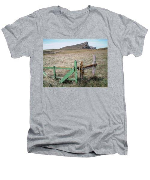 The Back 1000 Men's V-Neck T-Shirt