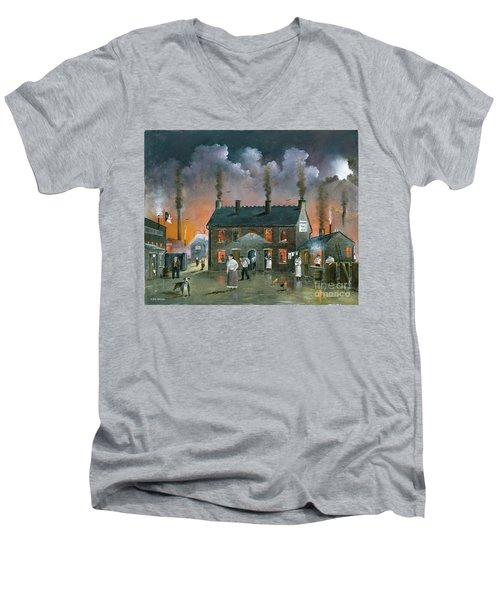 The Backyard Men's V-Neck T-Shirt